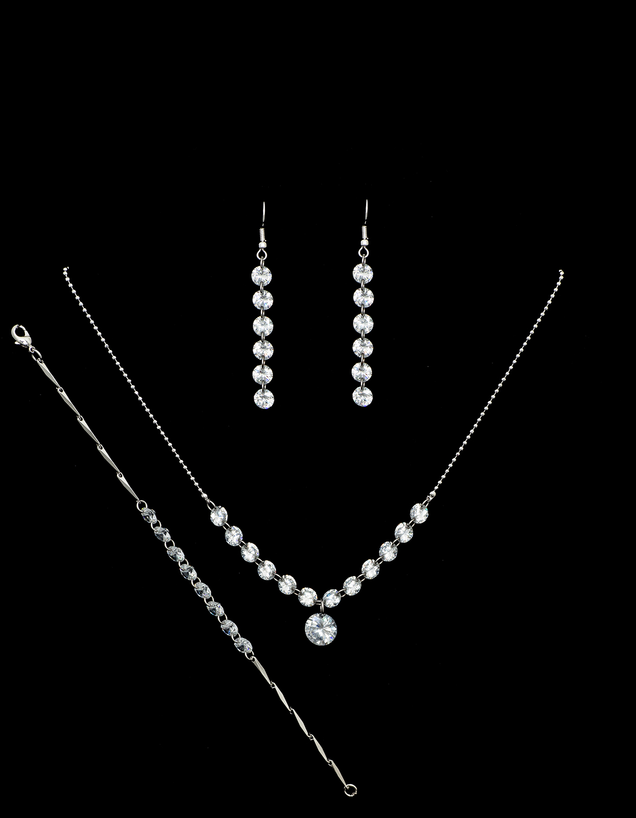 Bridal Classics Necklace Sets CZ-818