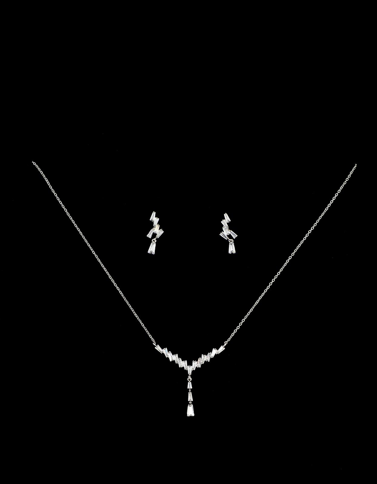 Bridal Classics Necklace Sets CZ-850