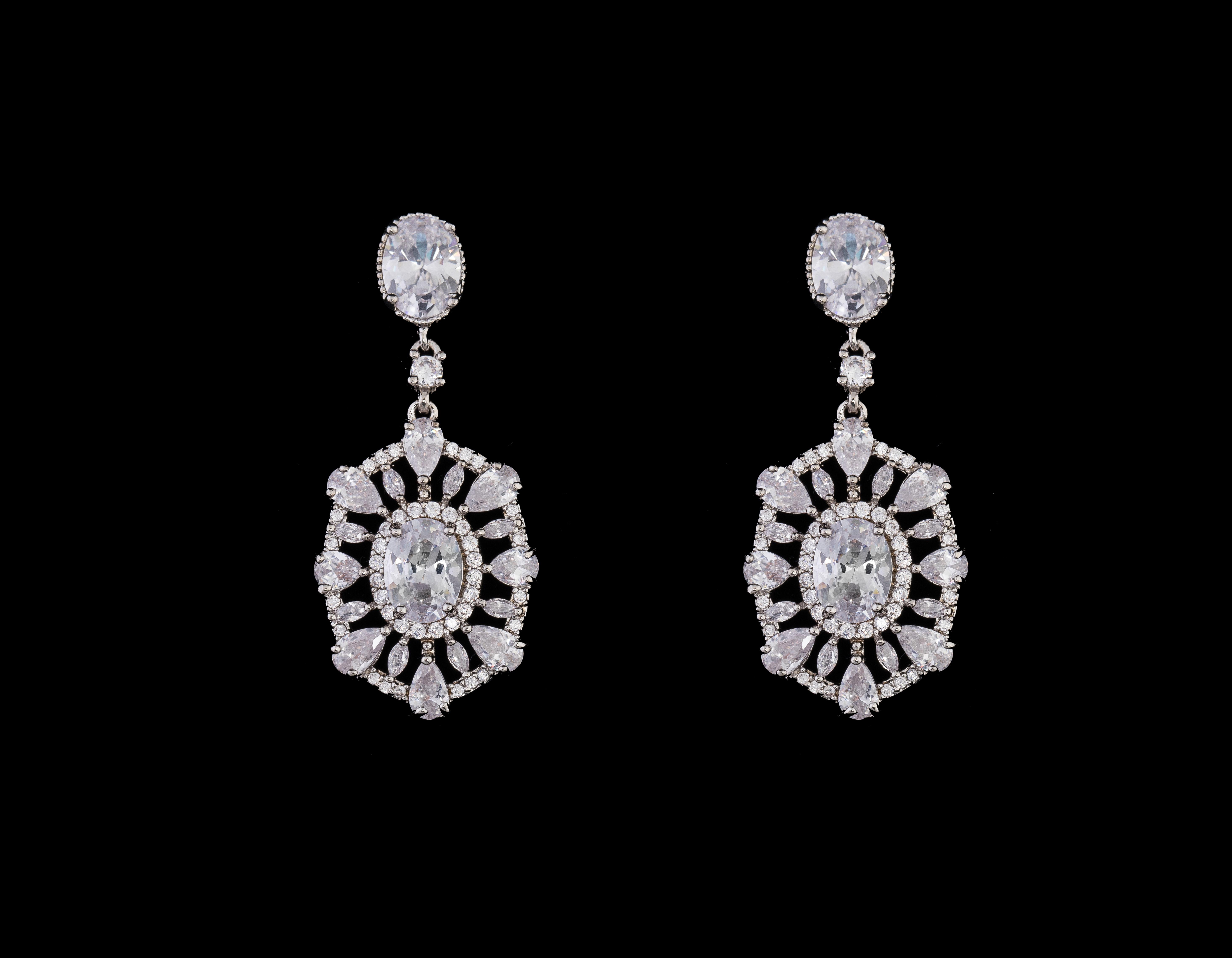 Bridal Classics Earrings CZ-859