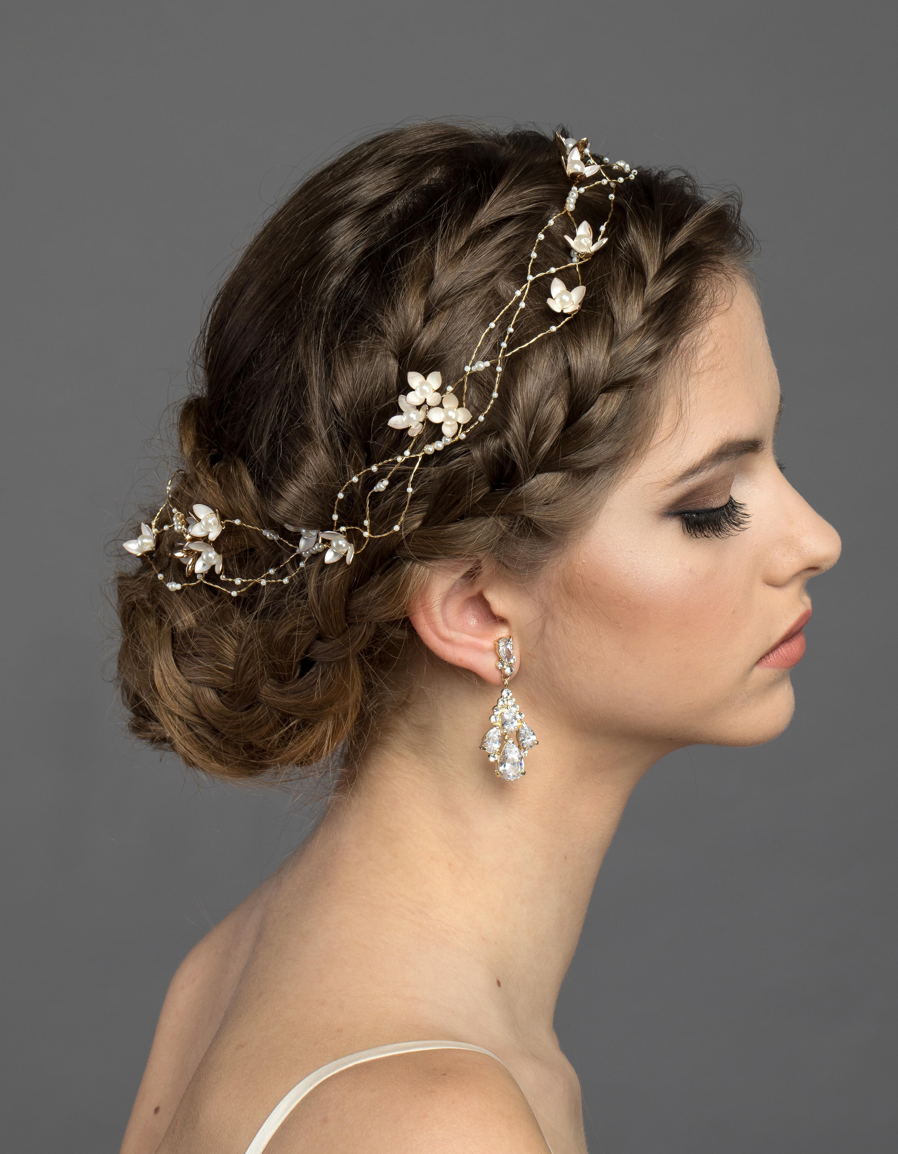 Bridal Classics Headbands, Wreaths & Vines HB-7101