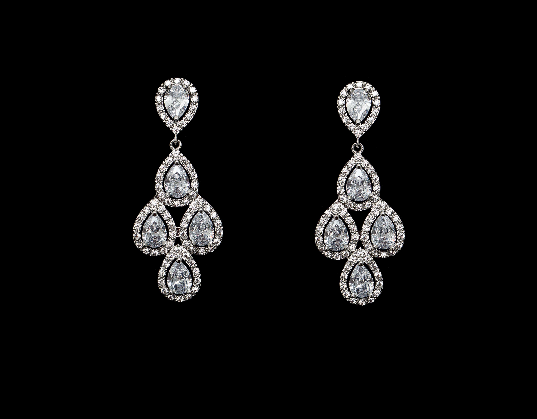 Bridal Classics Earrings CZ-869