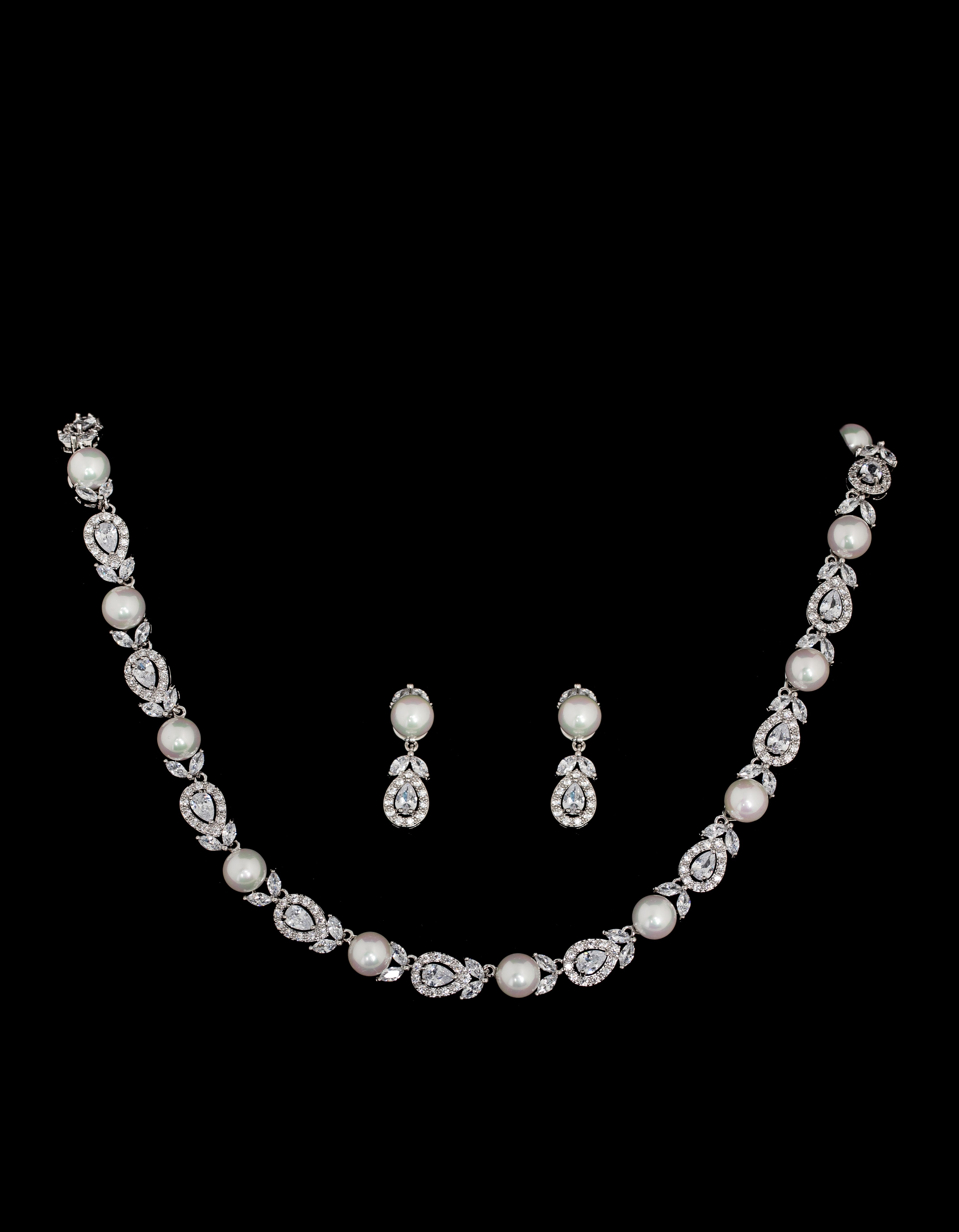 Bridal Classics Necklace Sets CZ-881