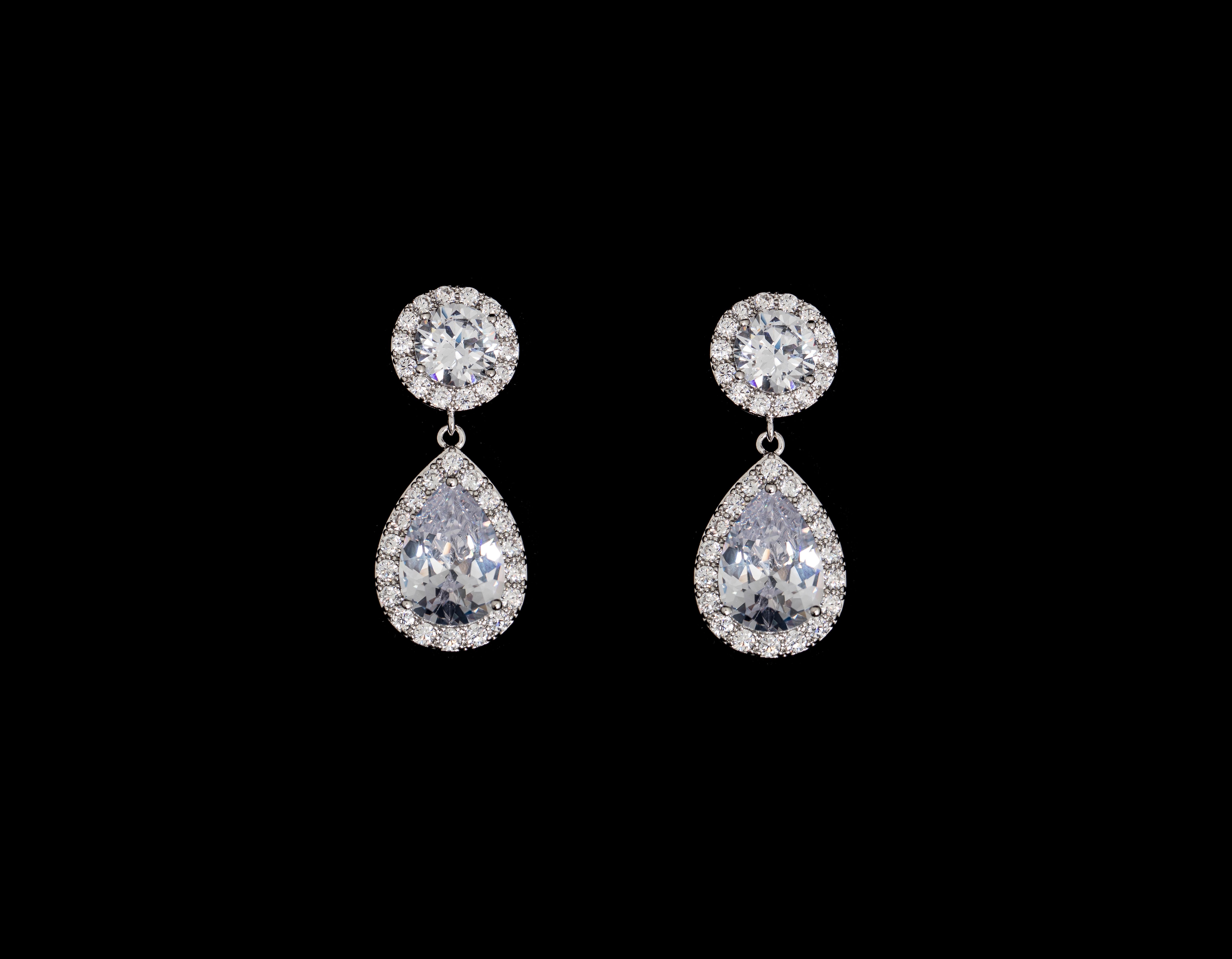Bridal Classics Earrings CZ-884