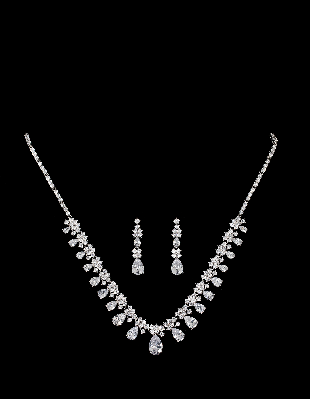 Bridal Classics Necklace Sets CZ-888