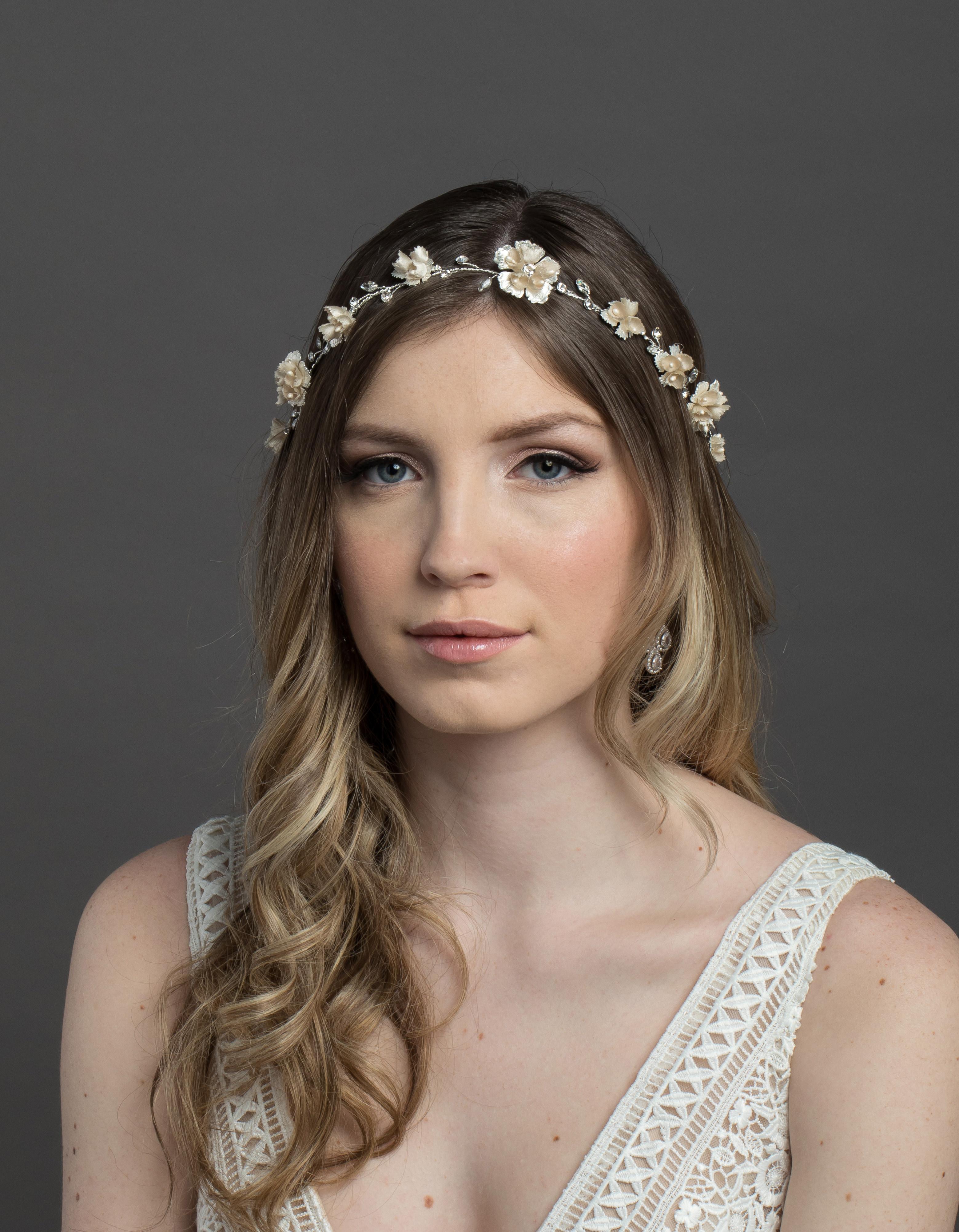 Bridal Classics Headbands, Wreaths & Vines T-4443