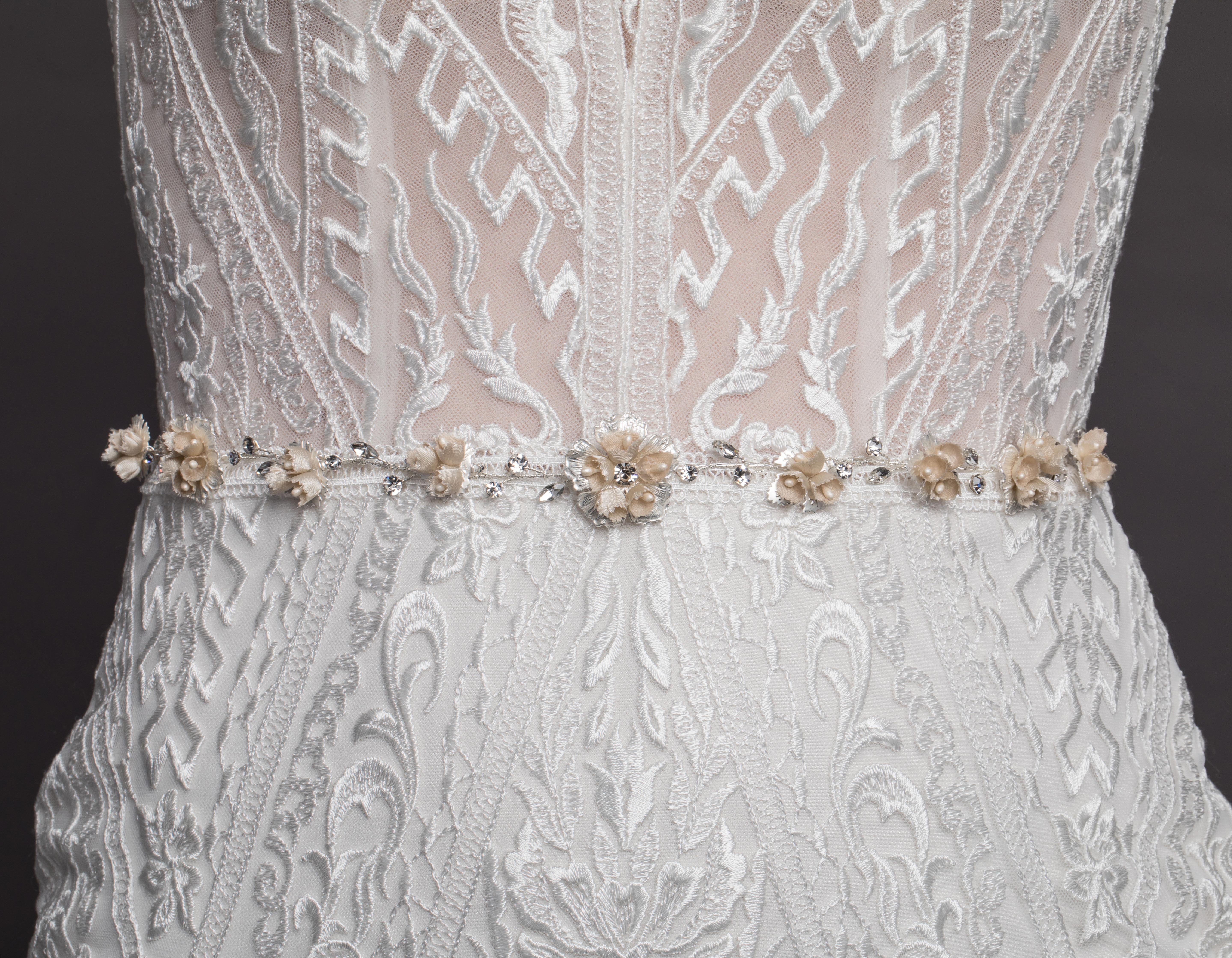 Bridal Classics Belts & Gown Jewellery T-4443B