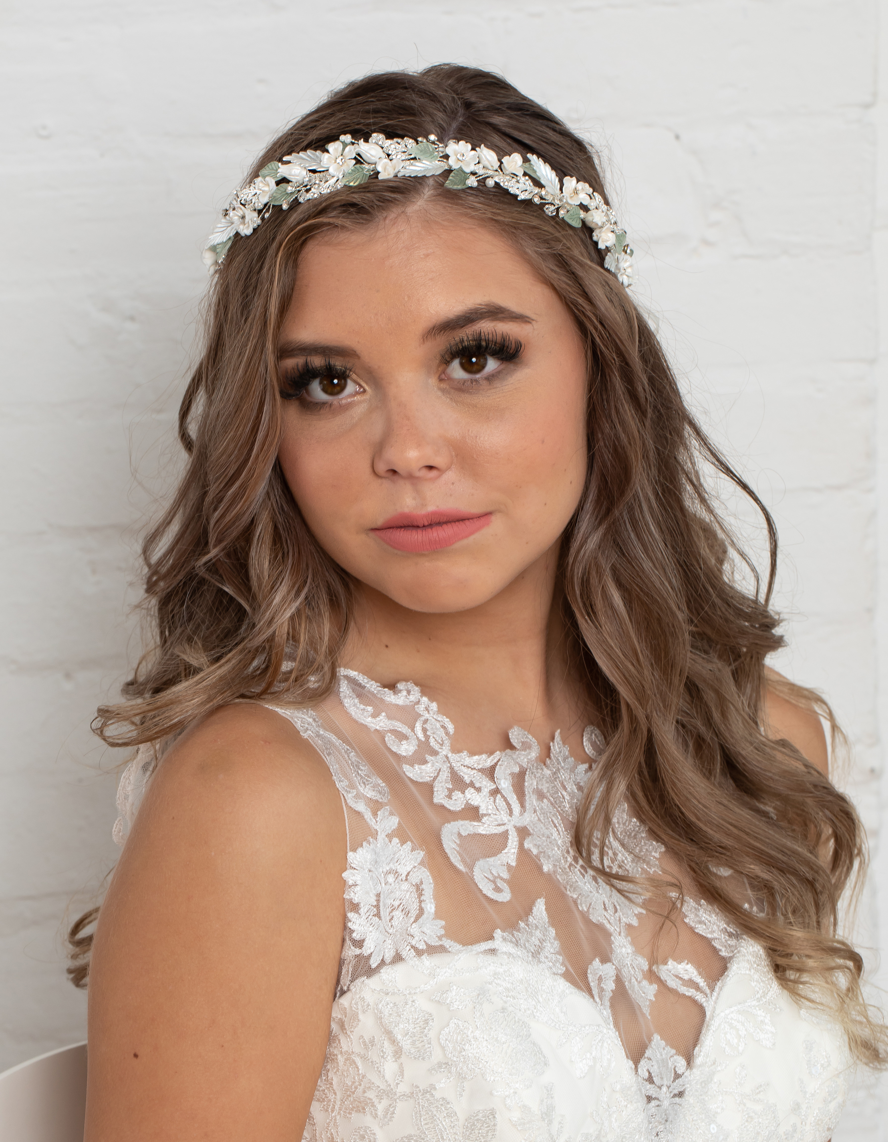 Bridal Classics Headbands, Wreaths & Vines T-4453