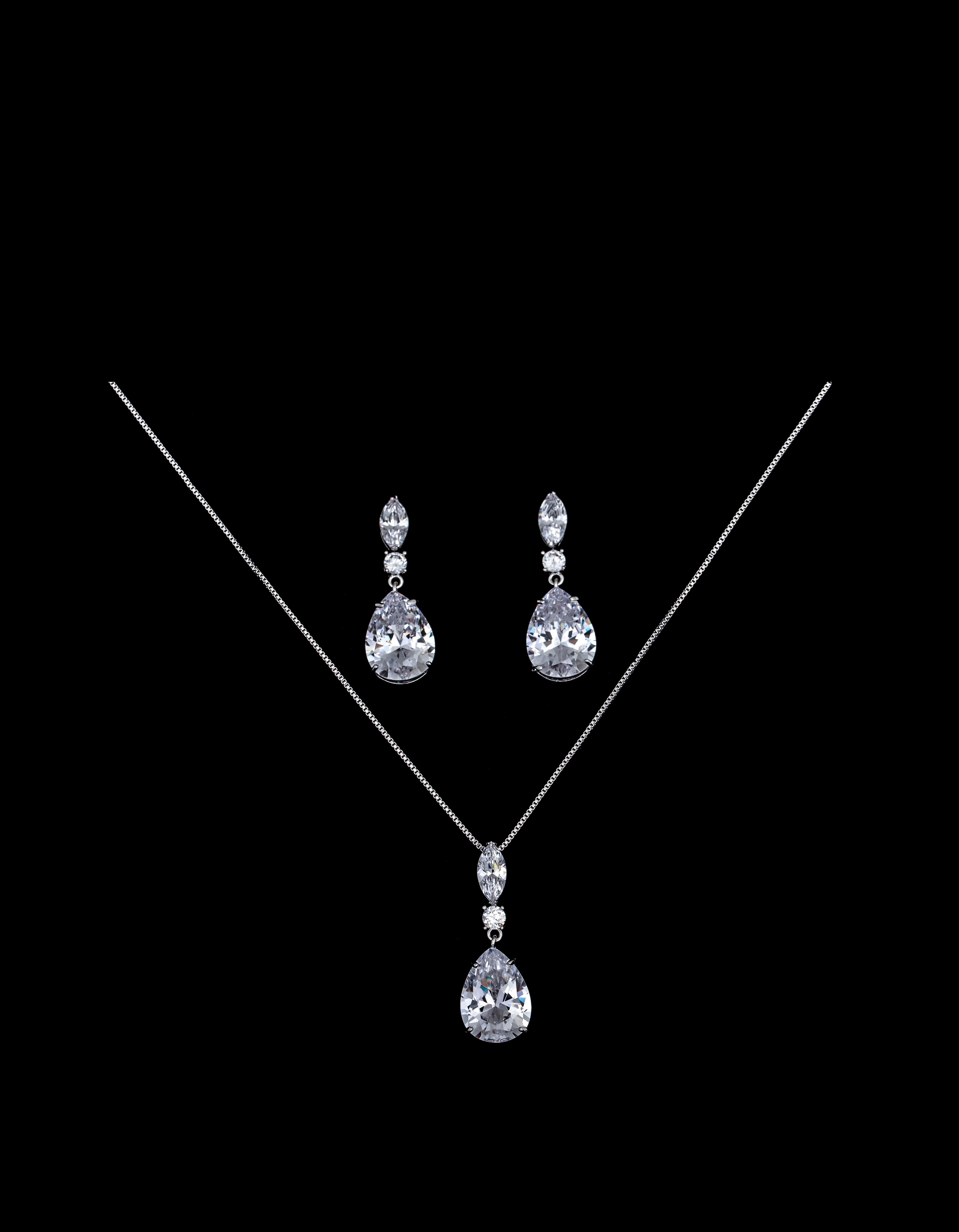 Bridal Classics Necklace Sets CZ-895