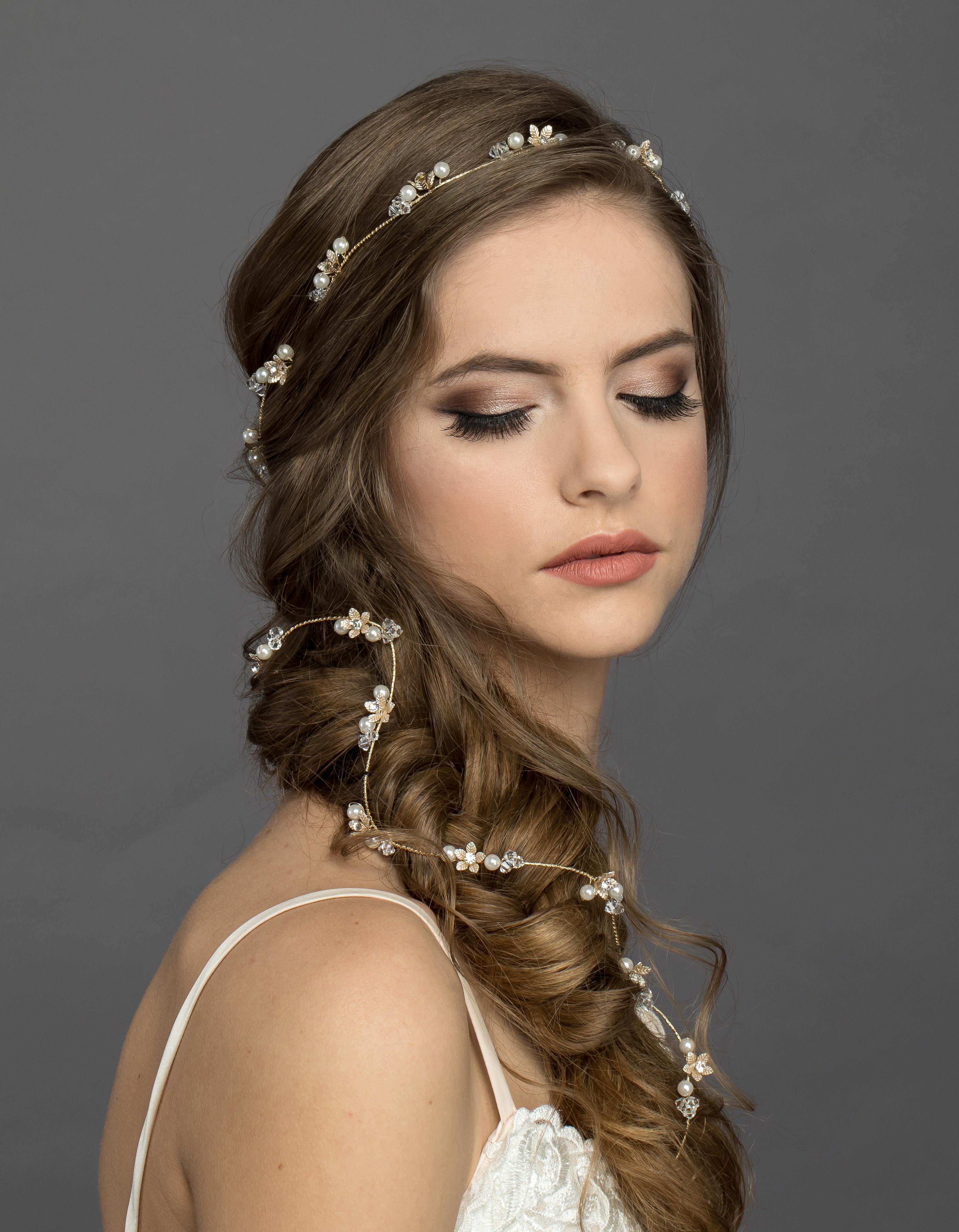 Bridal Classics Headbands, Wreaths & Vines HB-7103