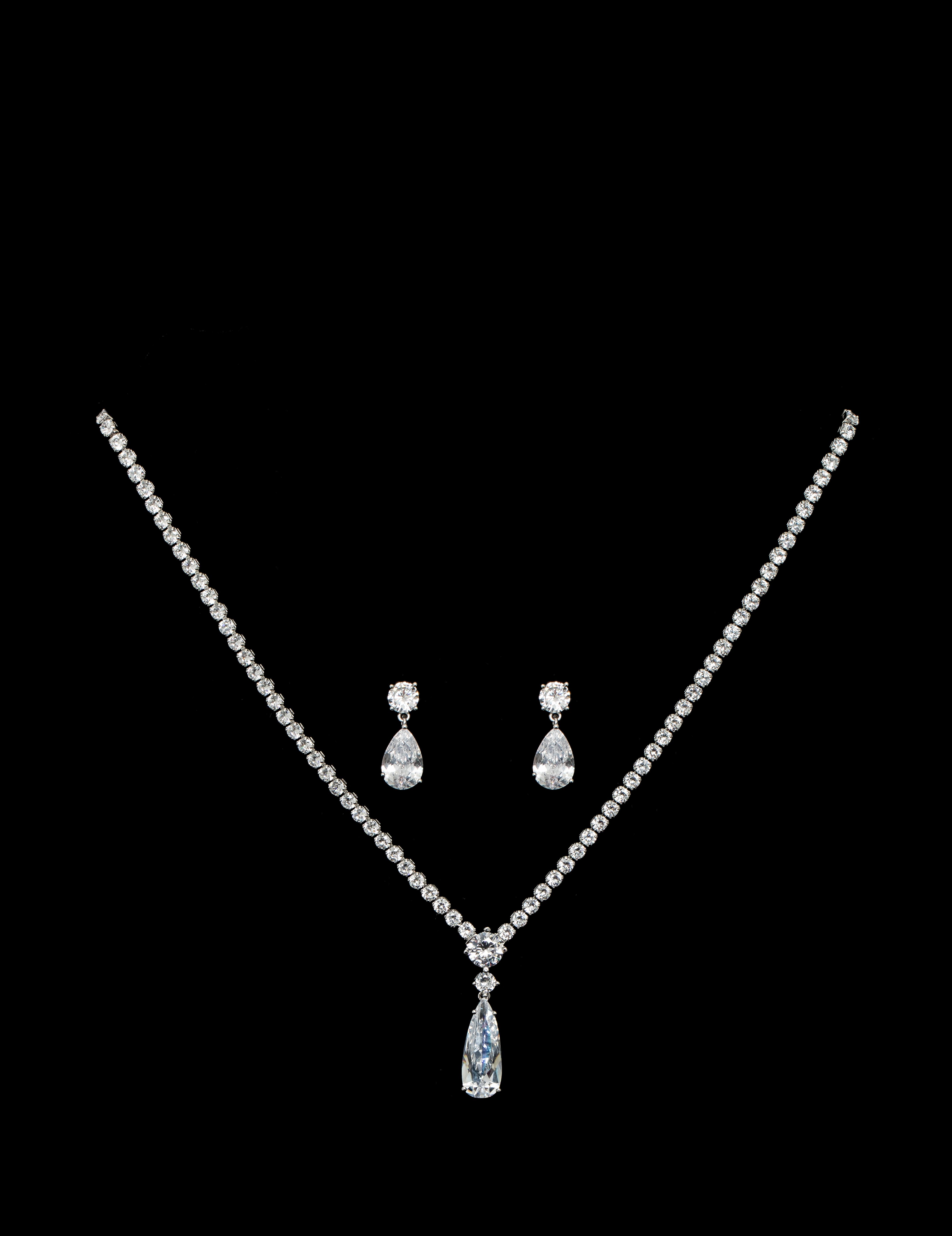 Bridal Classics Necklace Sets CZ-864