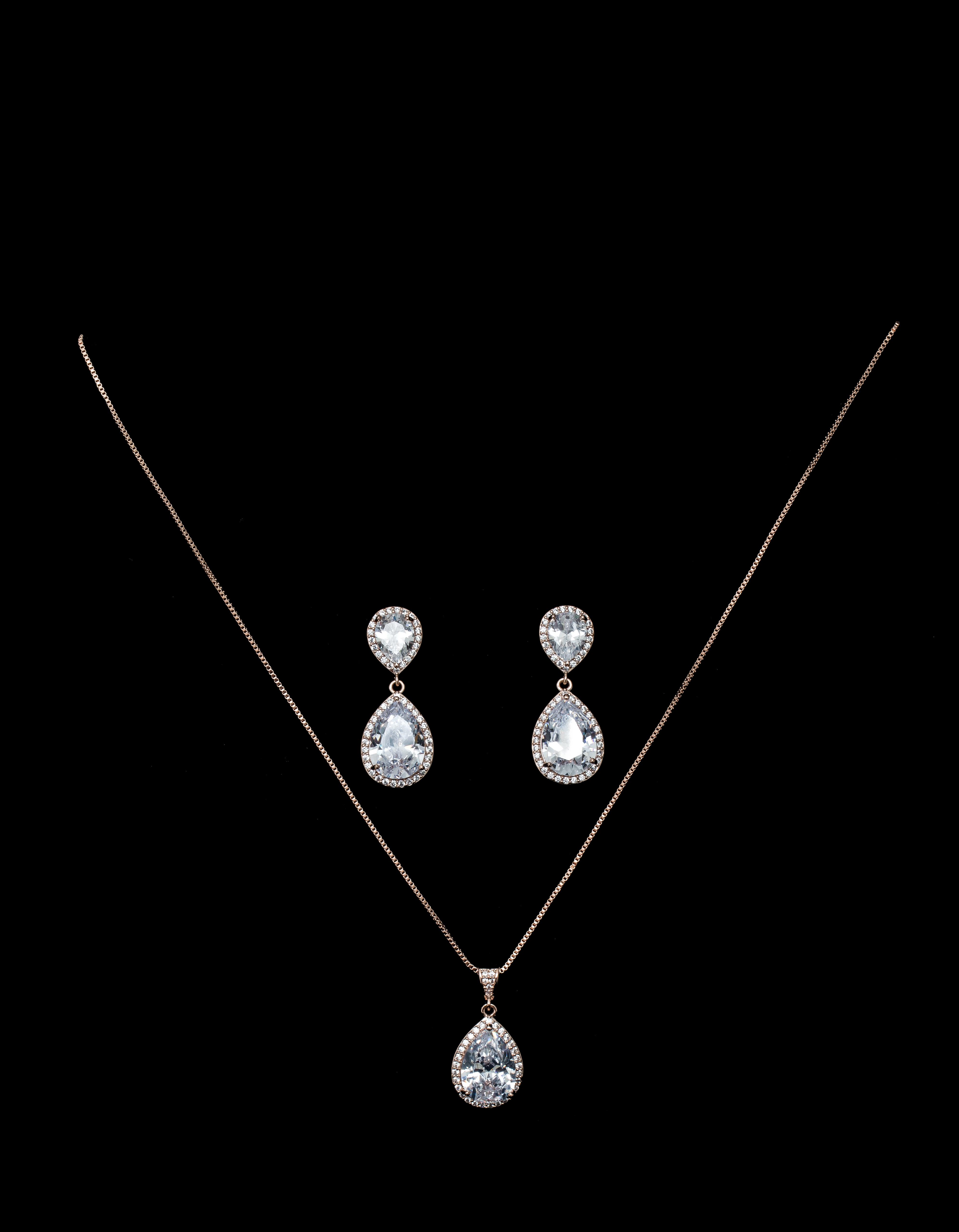 Bridal Classics Necklace Sets ME-1230