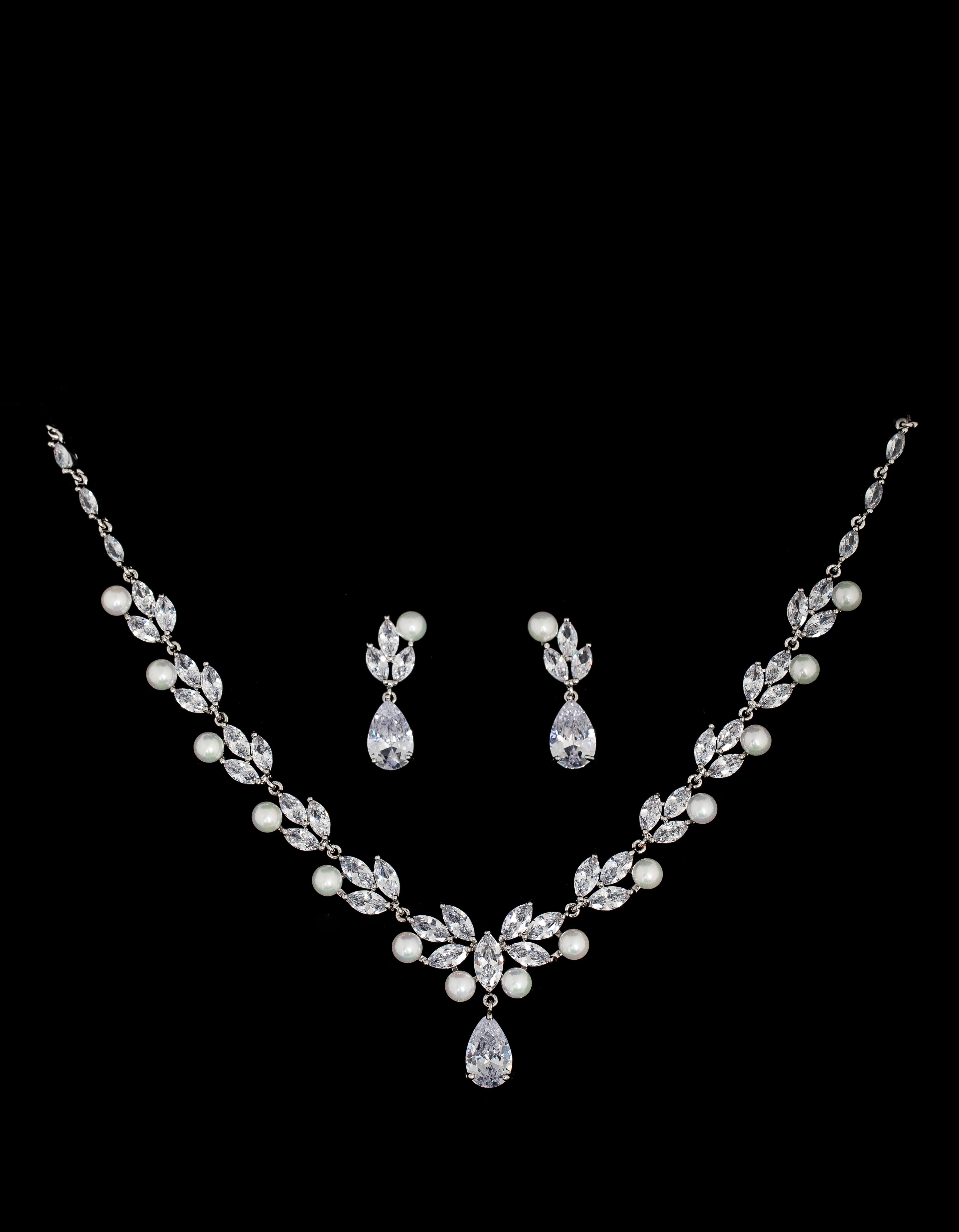 Bridal Classics Necklace Sets CZ-879