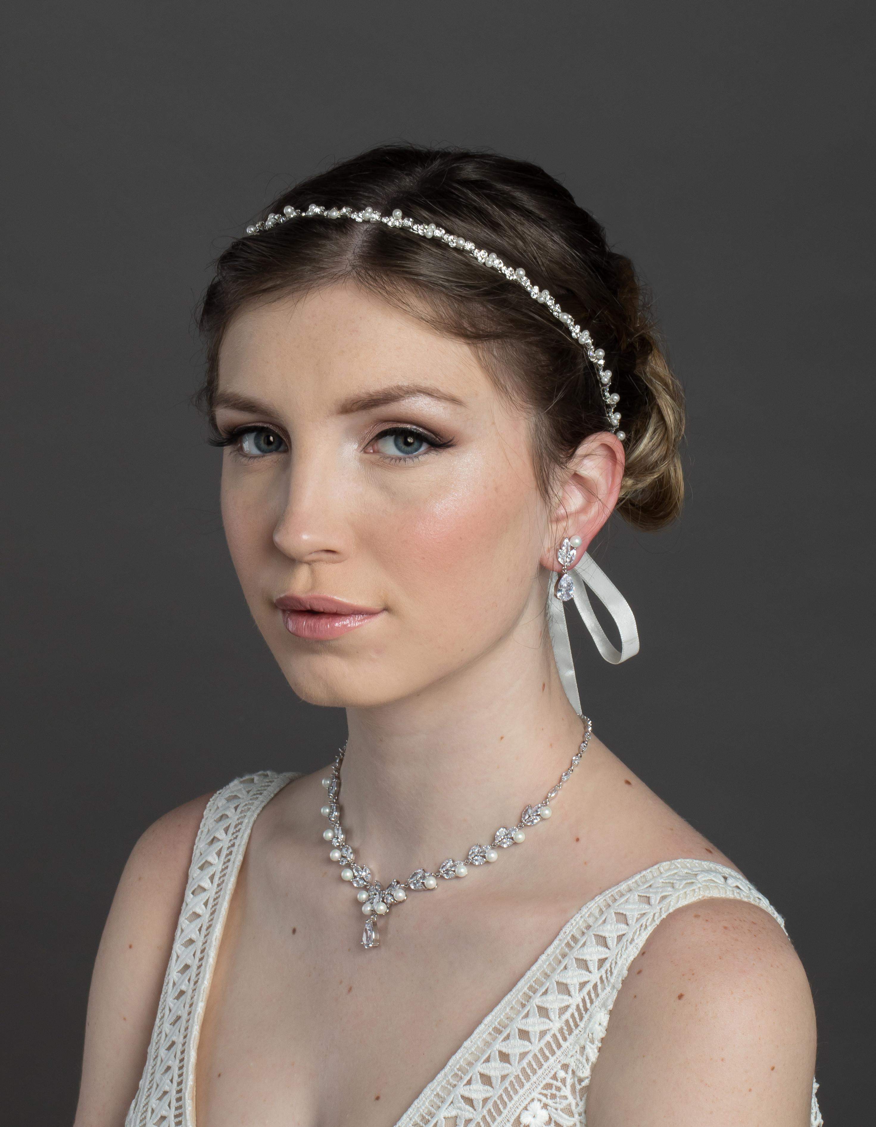 Bridal Classics Headbands, Wreaths & Vines HB-7107