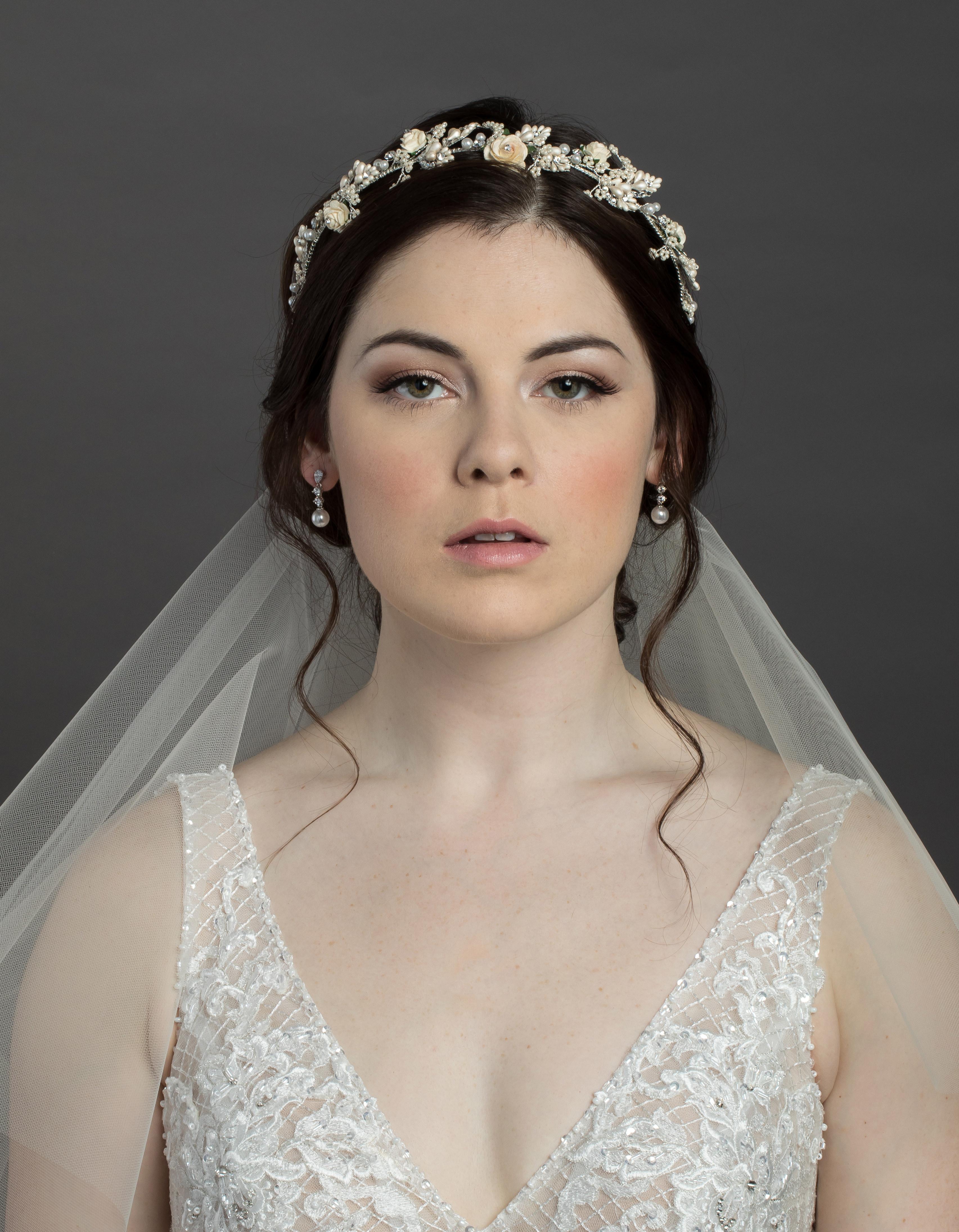 Bridal Classics Headbands, Wreaths & Vines T-4448