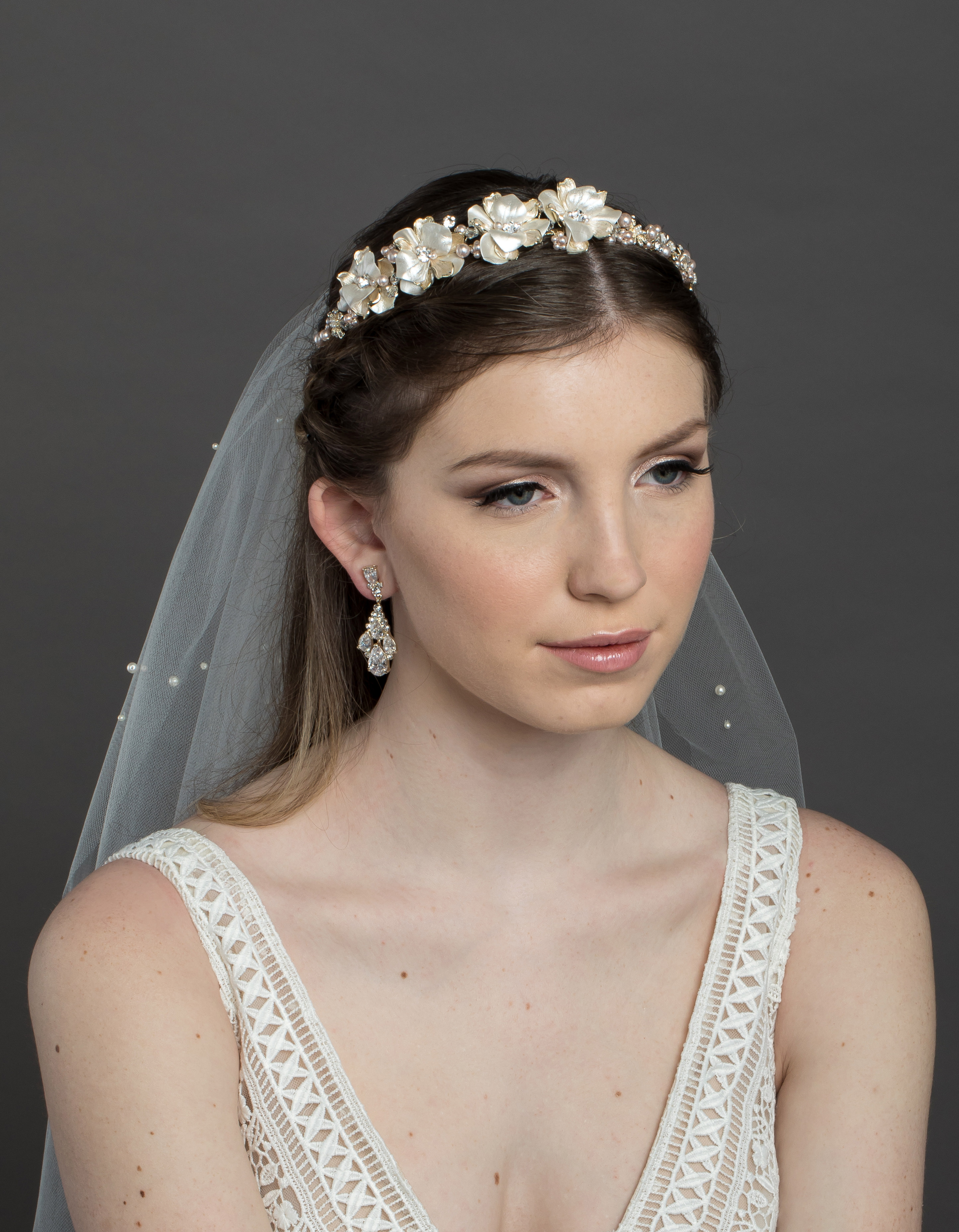 Bridal Classics Headbands, Wreaths & Vines T-4449