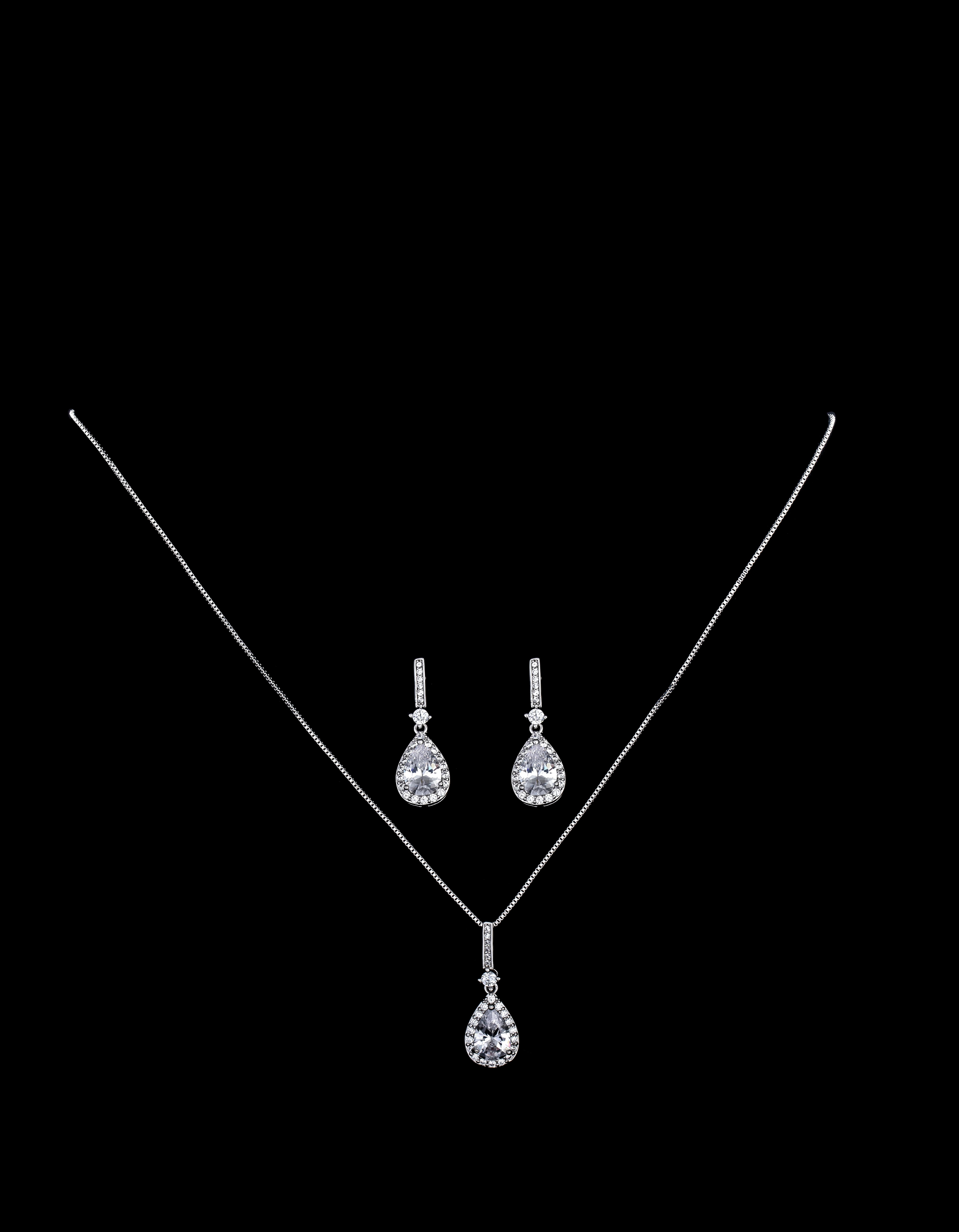 Bridal Classics Necklace Sets CZ-896